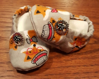 Steampunk shoes, Baby Shoes, Shoes, Fox shoes