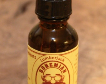 Beard Oil, 1 fl Oz, Lumberjack Scent
