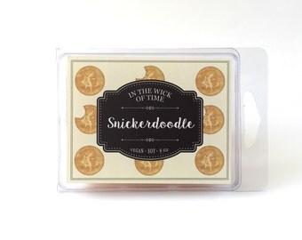 Snickerdoodle | Soy Vegan Wax Tart Melts |