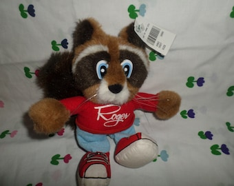 Vintage Rogers Department store plush Raccoon Roger NWTS ""