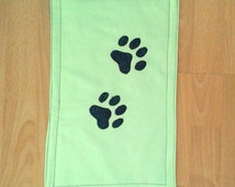 Cat Placemat Pet Feeding Cat Feeding Pets Accessories For Pets Pet Supplies Pet Products Cat Accessories Green Placemat Home Decor