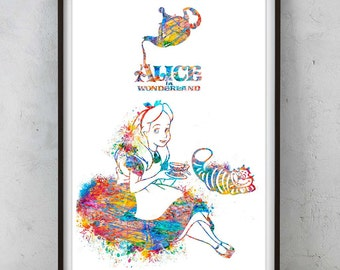 """Shop """"alice in wonderland fabric"""" in Art & Collectibles"""