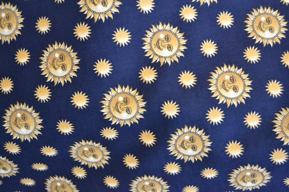 sun and moon fabric uk