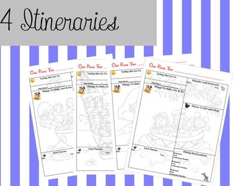 Itinerary pack 2 build your own disney binder planner for for Build your own planner