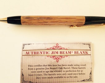 Authentic Jim beam pen