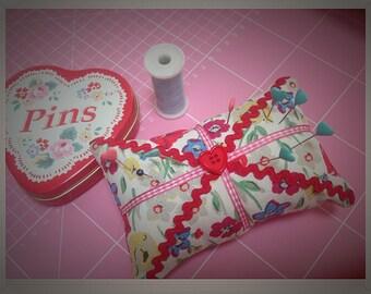 Cath Kidston fabric pincushion
