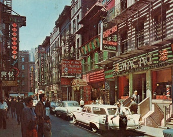 New York's Chinatown in the 1960s