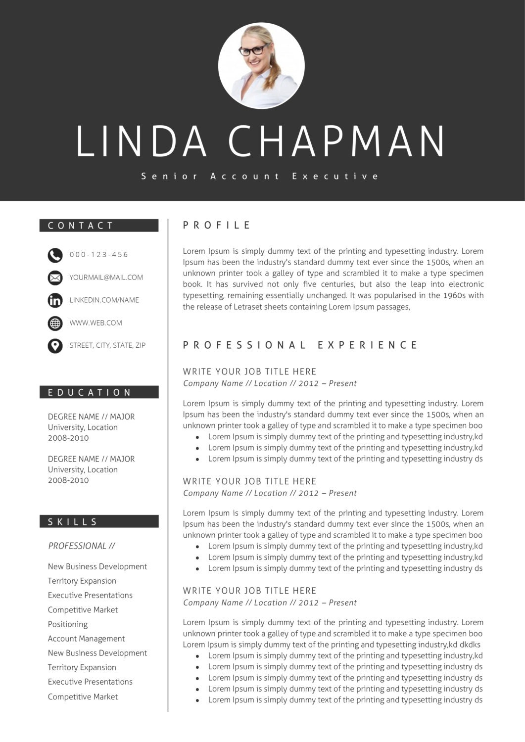 resume template cv template cover letter instant by a1resume