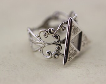 Silver The Legend Of Zelda Jewelry Triforce Ring Metal Antiquegift Halloween Gift Christmas Gifts C366R_S