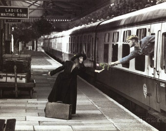 The Last Train 1992 Art Print
