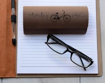 Personalized Glasses Case, Custom Glasses Case, Personalized Eyeglasses case, Custom Glasses Case, Eyeglasses Holder, --GC-LDB-HaileyRae