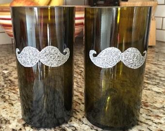 Mustache Tumblers