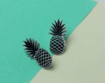 Chips pineapple / Pineapple Earrings