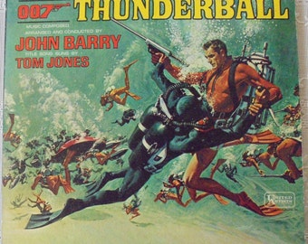 James Bond 007 Thunderball orig. motion picture soundtrack