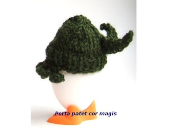 Egg Cozy Cthulhu with wings table decoration for horror fans and halloween