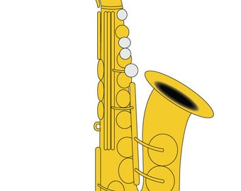 """Shop """"saxophone"""" in Craft Supplies & Tools"""