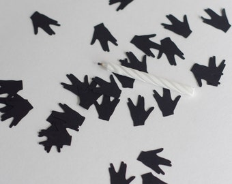 Star Trek Vulcan Live Long and Prosper Spock Hand Logo Confetti