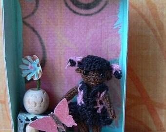 Miniature crochet doll- little Susie