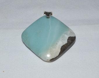 Sky Blue Glass pendant