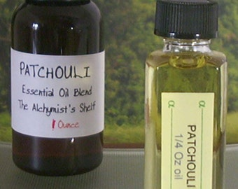 Patchouli Essential Oil Wiccan Craft Pagan Altar Ritual Holy Spell