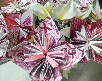 Breast Cancer Support Bouquet Breast Cancer Support Gifts / Breast Cancer Gifts