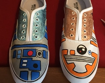 R2D2 and BB8 Shoes
