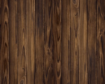 Dark Old Wood Backdrop - vintage plank, wooden floor - Printed Fabric Photography Background G0241