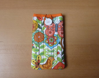 iPhone/ Smartphone/ Cell phone sleeve - Fabric