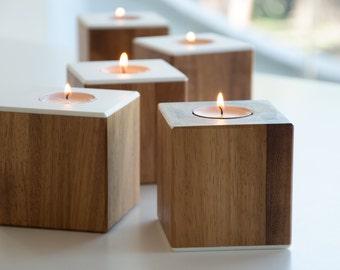 candlestick wedding wood candle wooden candlesticks holder centerpiece candelabra box light candle holder lantern porta candela teacandle