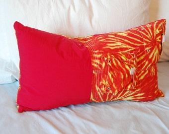 Orange Tie-Dye /Red