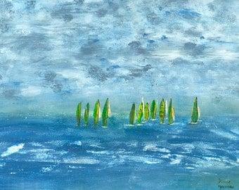 Give Thanks Painting #12 - Set Sail