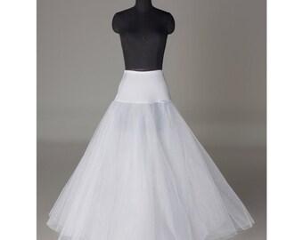 Quality A-line Petticoat/under skirt/slips/hoop skirt/crinoline PTCT017 Crinoline SALE