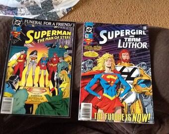 Supergirl/Superman comics