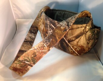 Hunting Camouflage Dog Carrier with Pockets for Small Dogs, Dog Sling