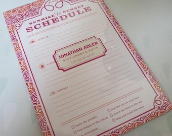 Jonathan Adler I love Lists pad