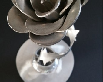 Aluminum Flower Sculpture