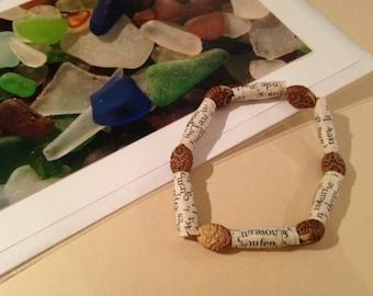 """Bookish"" bracelet"