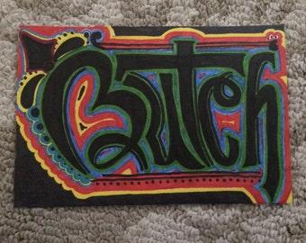 Butch - Name art