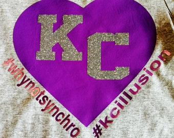 KC Illusion Color Shout Tee