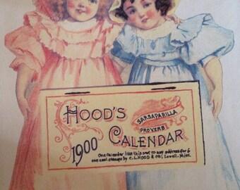 Hood's Calendar copy