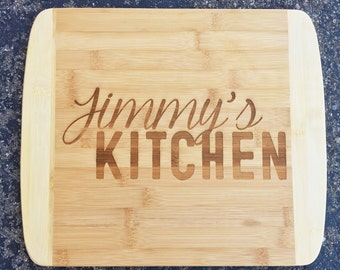 Kitchen,Engraved Cutting Board,Personalized Cutting Board,Shower Gift,Wedding Gift,Anniversary Gifts,Housewarming Gift,Laser Engraved