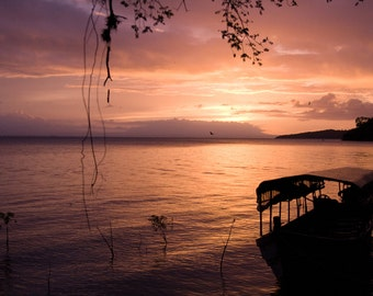 Solentiname Sunset - Original Photograph