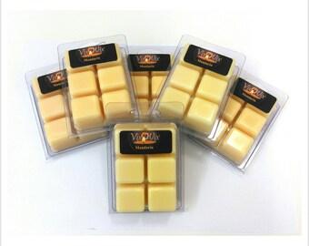 Wax Melts, Mandarin,Mandarin Soy Wax Melts, Mandarin Melts, Mandarin Wax Tarts, Mandarin Wax Cubes, Mandarin Soy Wax Clamshell, Orange Melts