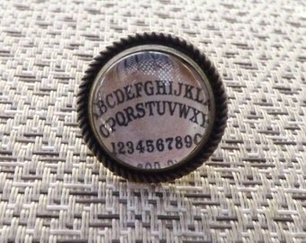 Ouija board Victorian ring