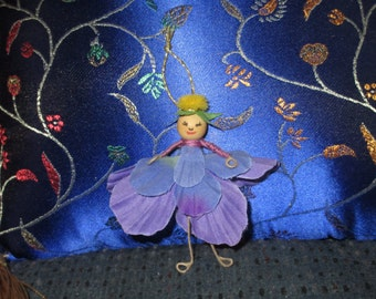 Tiny Flower Fairy Ornament