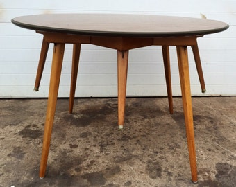 Vintage Versatile Star Form Coffee Table and Breakfast Table