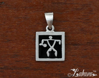 12mm Silhouette Collection Warrior (Single) Type1 Pendant