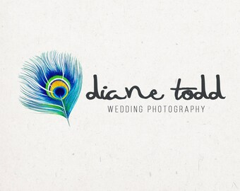 Photography Logo - colorful logo, photography business logo design, small business logo, blog logo, premade logo design