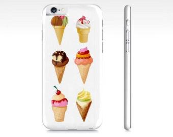 Ice Cream iPhone 6 Case - Ice Cream Phone 6S Case - Ice Cream iPhone 5 Case - iPhone 5S Case - Samsung Galaxy Case - Summer Phone Case