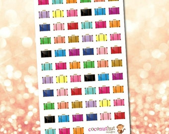 Suitcase / Luggage / Travel / Vacation Planner Stickers